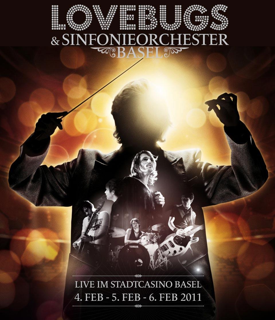 Lovebugs & Sinfonieorchester Basel