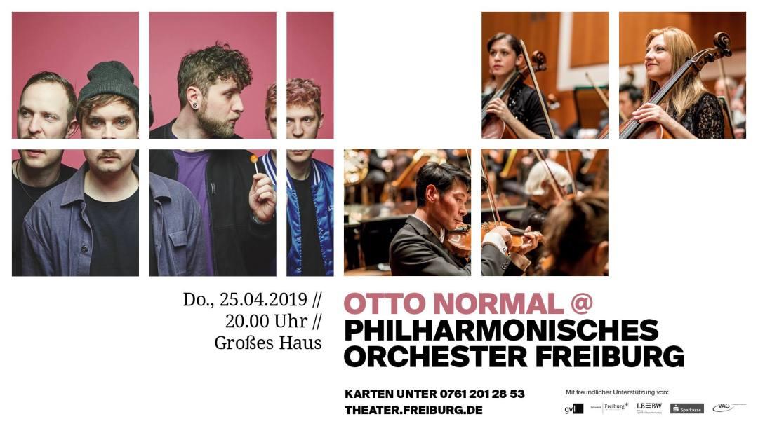 Otto Normal & Philharmonisches Orchester Freiburg