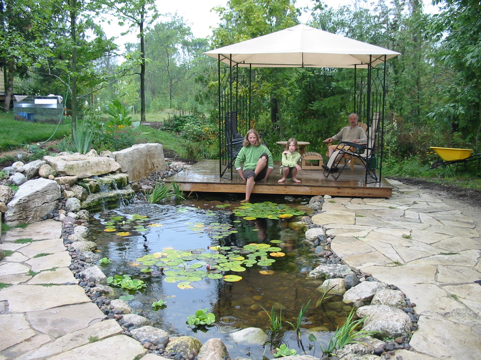 Koi Pond Construction Plans