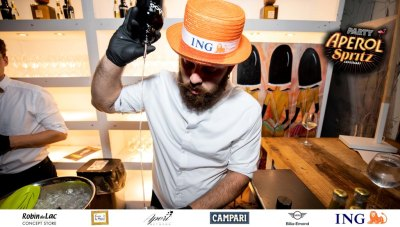 Aperol Spritz Party - 100 Years of Joy - Aperinetwork - Come à la Maison - Robin du Lac Concept Store - Luxembourg (100)