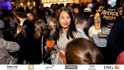 Aperol Spritz Party - 100 Years of Joy - Aperinetwork - Come à la Maison - Robin du Lac Concept Store - Luxembourg (111)