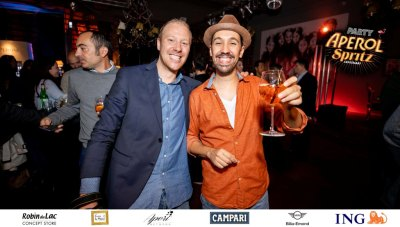 Aperol Spritz Party - 100 Years of Joy - Aperinetwork - Come à la Maison - Robin du Lac Concept Store - Luxembourg (116)