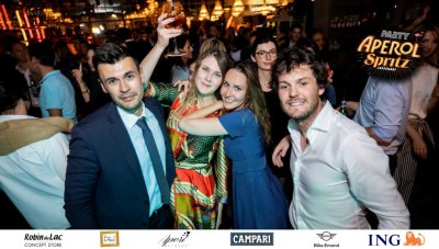 Aperol Spritz Party - 100 Years of Joy - Aperinetwork - Come à la Maison - Robin du Lac Concept Store - Luxembourg (137)