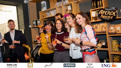 Aperol Spritz Party - 100 Years of Joy - Aperinetwork - Come à la Maison - Robin du Lac Concept Store - Luxembourg (19)