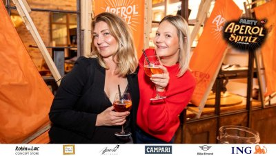 Aperol Spritz Party - 100 Years of Joy - Aperinetwork - Come à la Maison - Robin du Lac Concept Store - Luxembourg (35)