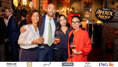 Aperol Spritz Party - 100 Years of Joy - Aperinetwork - Come à la Maison - Robin du Lac Concept Store - Luxembourg (55)