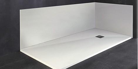 panneau acrylique salle de bain pas