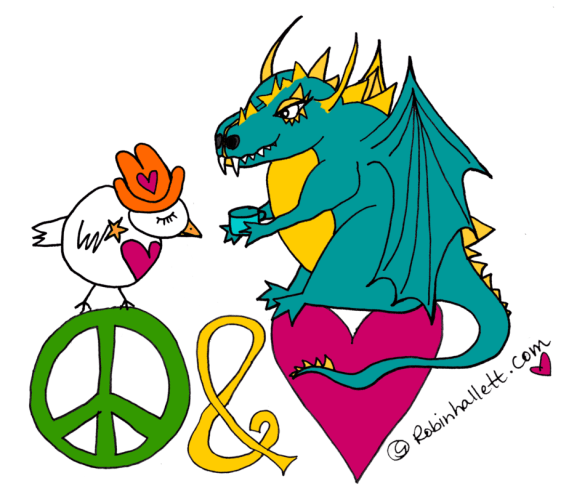 the love sheriff and dragonie peace and love