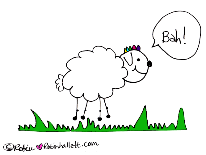 How to Be Yourself. The Story of the Rainbow Colored Unicorn Sheepie.
