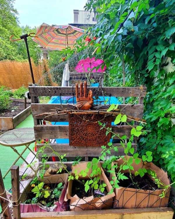 Robin Hallett Intuitive Healer My Garden