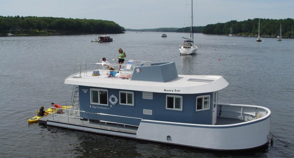 the nancy lou house boat