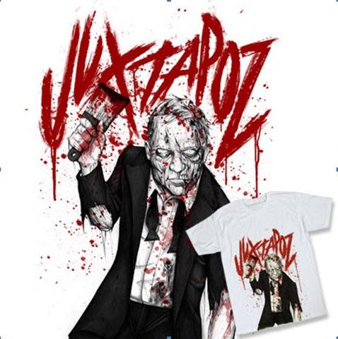 juxtapoz zombie tees