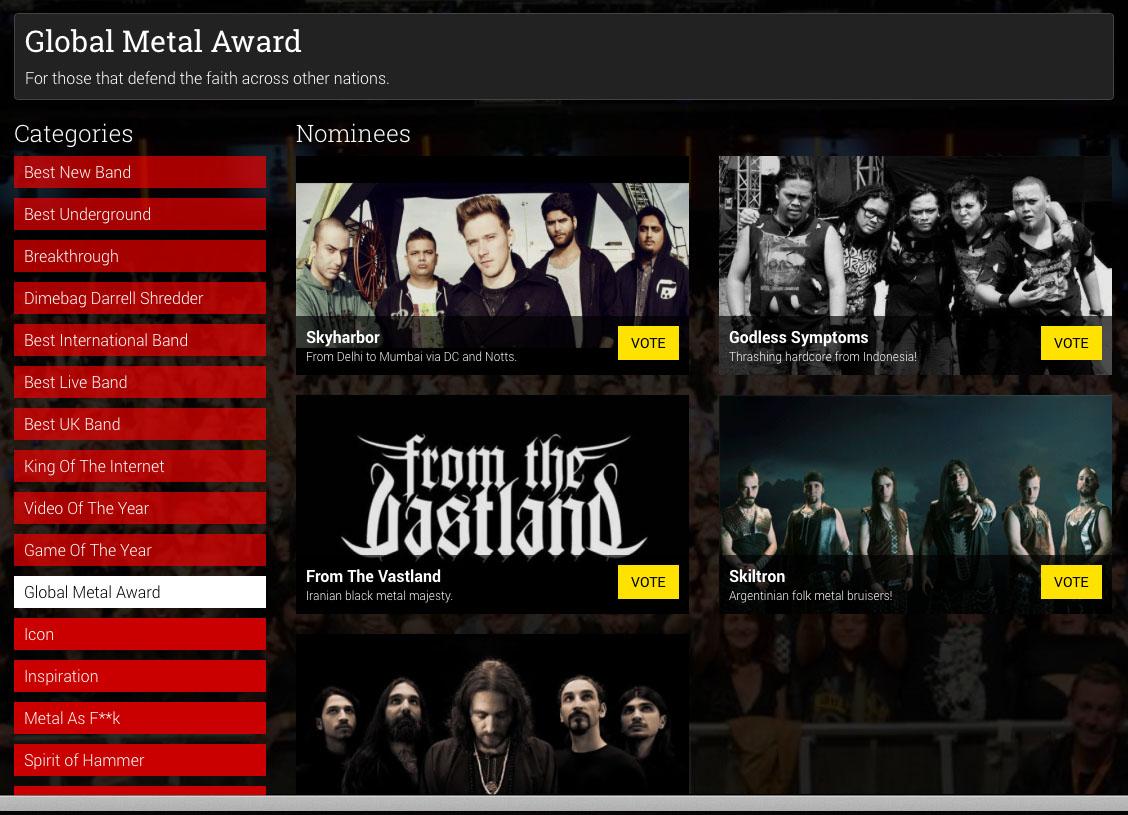 Global Metal Award