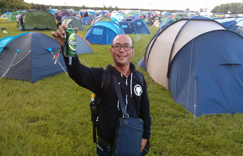 Robin Malau at Download Fest 2013