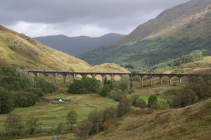 P. 13 - Journeys - Glenfinnan Viaduct on West Highland Line
