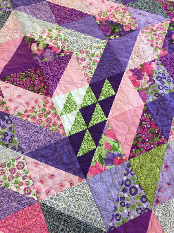 sweet pea lily jelly roll # 75