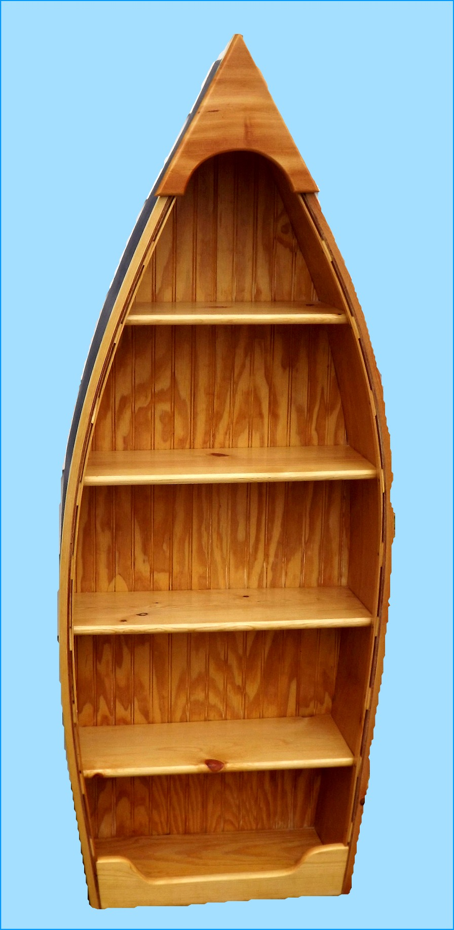 Row Boat Bookshelf Easy Craft Ideas