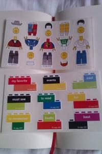 Lego Moleskine stickers