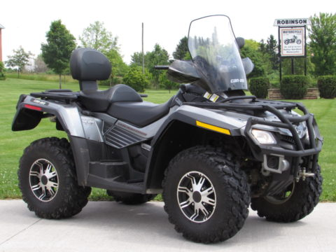2010 BRP Can-Am Outlander 800 RT Limited - Low 4,600 miles - ONLY $ Week