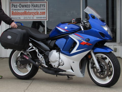 2008 Suzuki GSX650F  - GIVI Hard Bags - Throaty Coffman Exhaust - $16 Week
