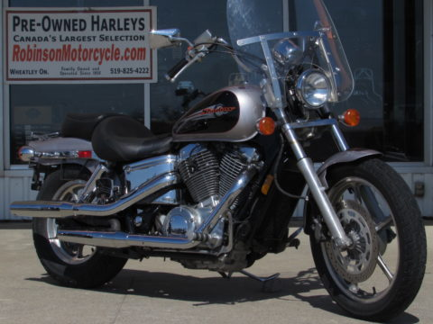 2000 Honda Shadow VT 1100   - LOW 49,000 KM - ONLY $14 Weekly or $2,950