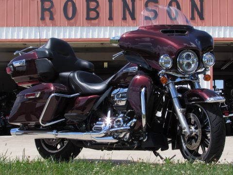 2019 Harley-Davidson ULTRA Classic FLHTCU  - Twisted Cherry Pearl - $50 week - ABS, Navigation and More!