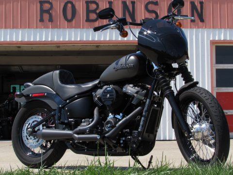 2018 Harley-Davidson Softail Street Bob FXBB   Milwaukee Eight 107 - $6,000 in Customizing - $ Week