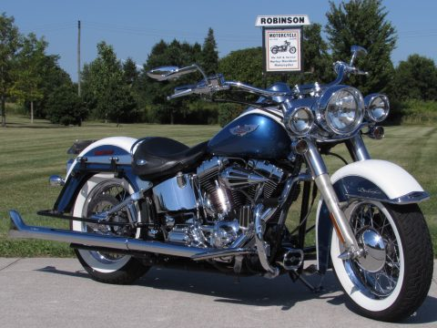 2005 Harley-Davidson Softail Deluxe FLSTN   - Loaded with $6,000 Options - 2 Like new Tires