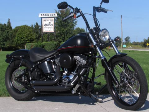 2013 Harley-Davidson Blackline FXS   - $5,000 in Customizing - Only $38 weekly! - Black Denim Cool