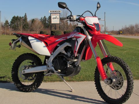 2019 Honda CRF 450L  - $29 Week - ONLY 4,800 Kilometers - Get Ready for Spring!