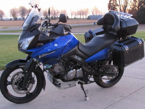 2008 Suzuki V-Strom 650  - Easy to Handle - Cheap to Insure - Big fuel tank for long rides!