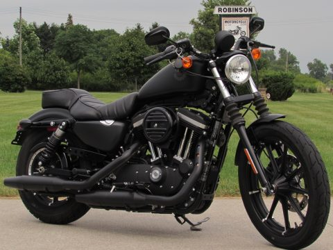 2020 Harley-Davidson XL883N Sportster Iron  - ONLY 2,015 KILOMETERS - Security - Passenger Seat
