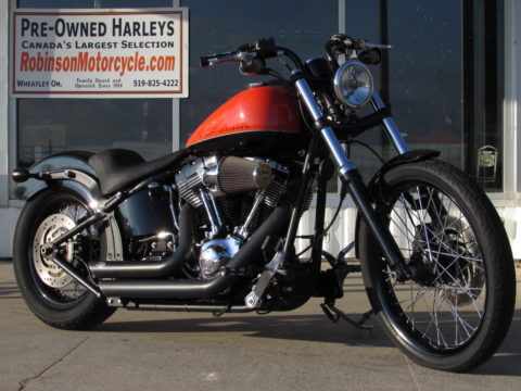 2012 Harley-Davidson Blackline FXS   Softail 103 - Super Low - $2,500 in Options and Customizing,
