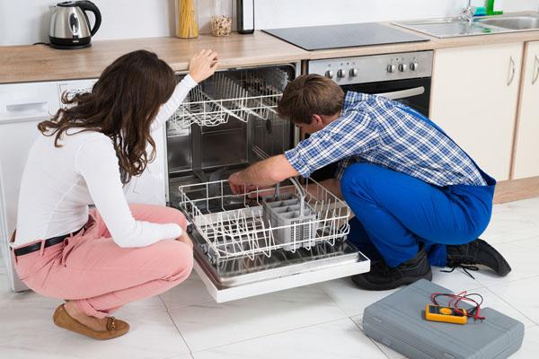 sink back up when the dishwasher runs