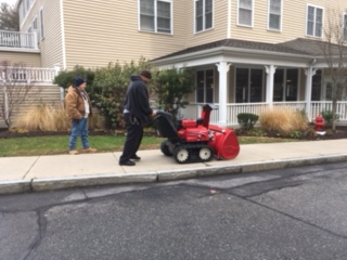 Robinsons Hardware and Rental delivers the areas first Hybrid Snowblower in Framingham, MA