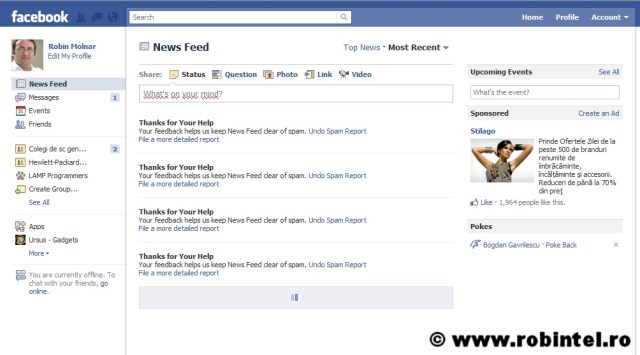 Spamul și invazia de informații irelevante va face să se ducă naibii Facebook - Iată un exemplu despre viteza de propagare a prostiei pe internet