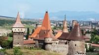 Castelul de la Hunedoara, vedere din spate