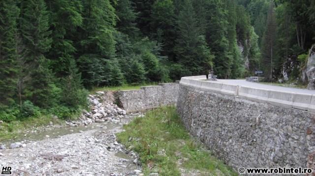 Drumul lui Băsescu - DN66A - cu lucrările adiacente, în județul Hunedoara, pe lângă Jiu de Vest