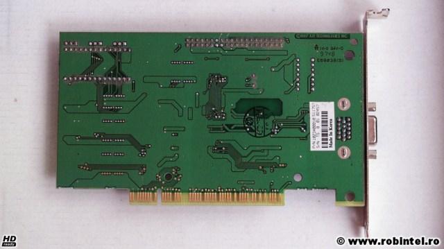 Placa video ATI Video Xpression (2MB, PCI) văzută de pe verso