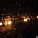 05. Linie circulara de demarcatie facuta din luminari in Piata Unirii din Cluj la lansarea lampioanelor