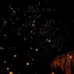 23. Multa lume a venit la lansarea lampioanelor in Piata Unirii din Cluj