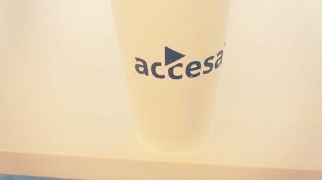 Altfel te simți când bei un #ToffeeLatte oferit de #Accesa și stai pe un divan de la #Steelcase. Yup, e fain tare la #cluj #itdays