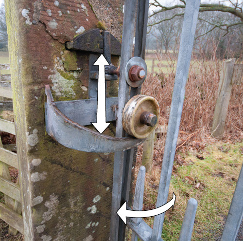Self Closing Gate Mechanism Rob Ives