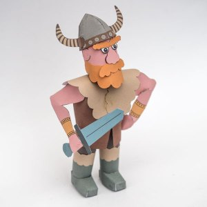 Paper Viking to Download and Make