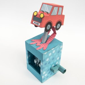 Biped Car to Download and Make