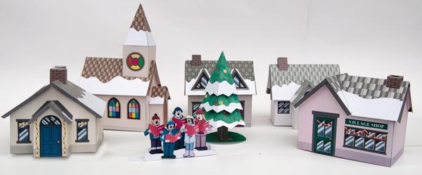 Christmas Village – Download and Make