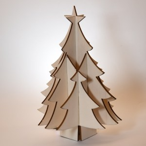 Laser-cut Christmas Tree