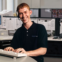 Telesales operator - no, not James