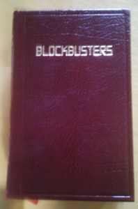 Blockbusters dictionary