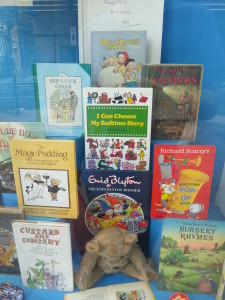 A selection of second-hand kids books